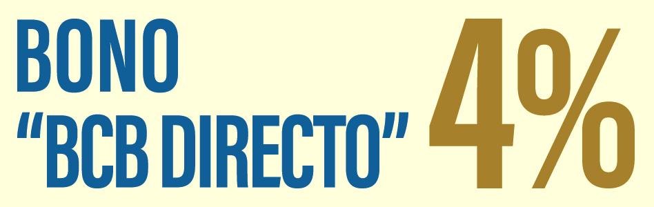 Bonos BCB Directo