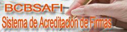 BCBSAFI - Sistema de Acreditacion de Firmas